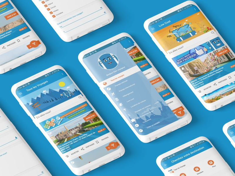 "Travel App "" AjiNsafro "" trip booking travelling travel travel app user experience user interface design ux ui"
