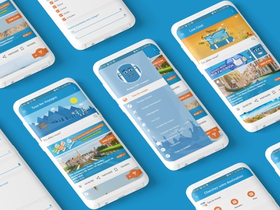 "Travel App "" AjiNsafro "" trip booking travelling travel travel app user experience user interface design ux ui"