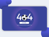 #DailyUI #008 - 404 page via @Daily_UI