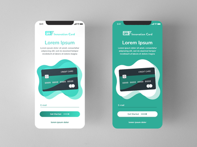 Credit Card Concept UI