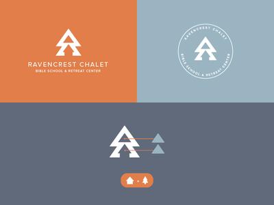 Ravencrest Logo clean logo minimal logo bold clean arkansas minimalism logo colorado