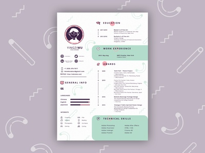 Personal Resume / CV Design
