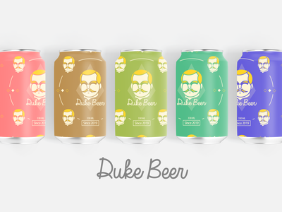 Duke Beer ( 1 Dribbble Invite