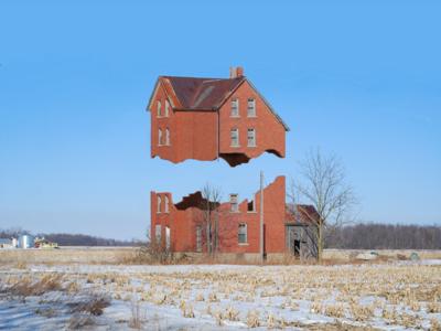 House photo manipulation photoshop