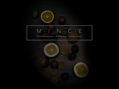 Mince: Landing app culinary ui product design