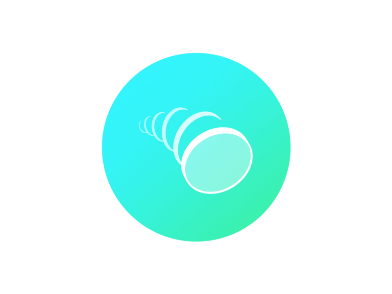 Coin Toss Icon ui svg icon gradient