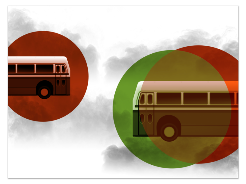 Bus Derby Feature javascript game ui physi.js three.js indie game blender gltf 3d