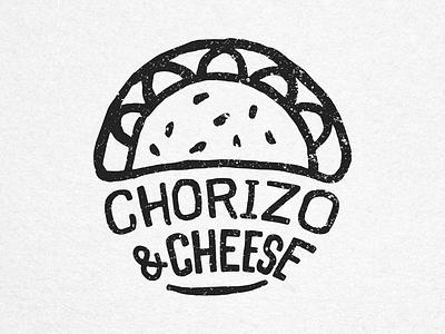 Chorizo & Cheese - House of Empanadas Icon food empanadas icon stamp handmade ink