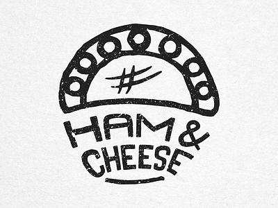 Ham & Cheese - House of Empanadas Icon food empanadas icon stamp handmade ink