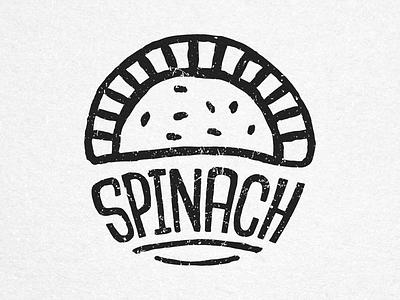 Spinach - House of Empanadas Icon food empanadas icon stamp handmade ink