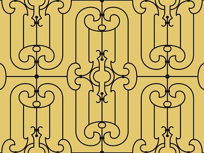 #Portalesilustrados - Av. Nuevo León 114 portals puertas doors portalesilustrados ironwork pattern design pattern illustration
