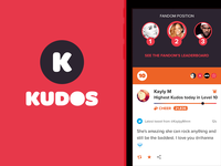 Kudos - The fan reputation and reward app