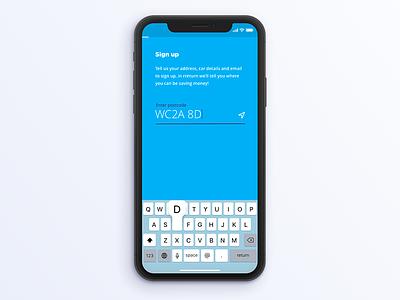 Onboarding UX Flow - Sneak Peak material design os on boarding android ui ux