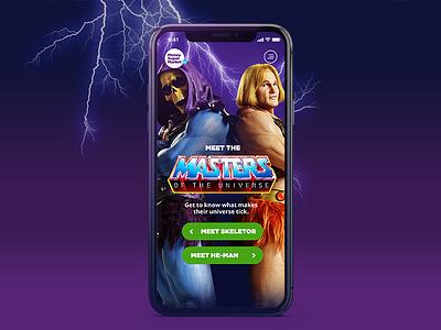 MoneySuperMarket Masters Of The Universe cx masters of the universe heman skeletor campaign mobile tv responsive