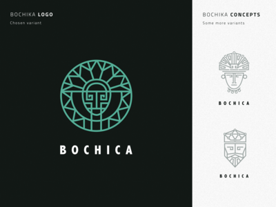 Logo Concepts For Bochica Project