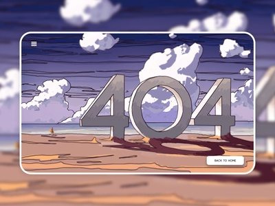    404 Page    Daily UI 08