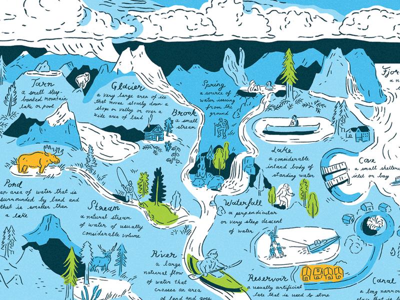 Taxonomy Series —Water Detail