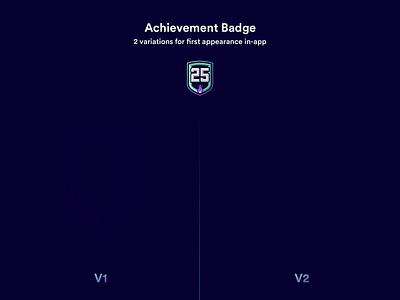 Achievement Badges / Compare pink logo app website white design gym fitness branding ui design ui