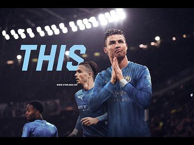 Cristiano Ronaldo Returns city gfx retouch manchester pogba ronaldo cr7 football soccer