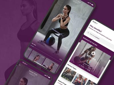 Health & Fitness UI/UX App