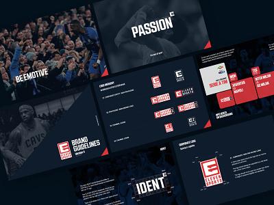 Eleven Sports Brand Identity Guidelines branding concept logo guidelines design brand identity branding brand