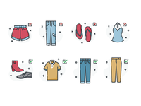 Dress Code Icons I