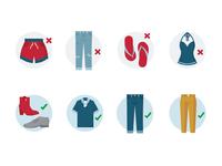 Dress Code Icons II