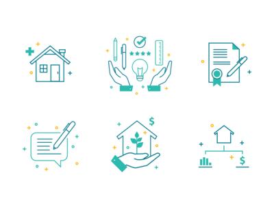 Mortgage Iconset