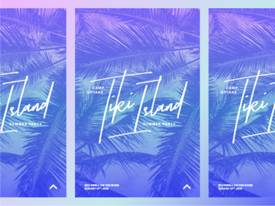 Camp Tiki Island Poster