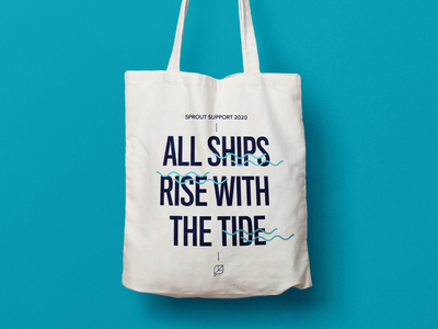 SproutSocial Support Tote