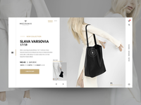 "Daily UI ""Minimal e-shop product detail"""