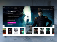 "Daily UI ""The Terror TV Series"""