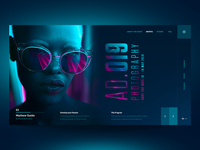 "Daily UI ""Neon & Shades"""