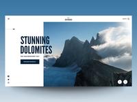 "Daily UI ""Stunning Dolomites"""