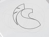 Lion logo grid
