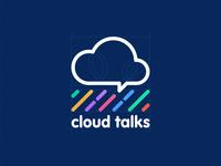 Cloud rain Logo