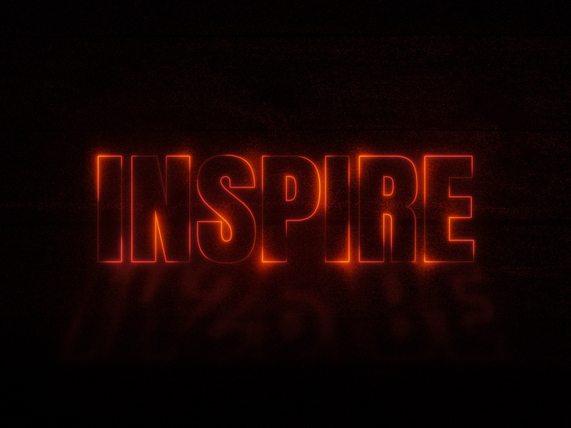 I says Inspire typographyart texteffects strangerthings inspiration inspire typography art art typography typo dailychallenge vector illustrator illustration design