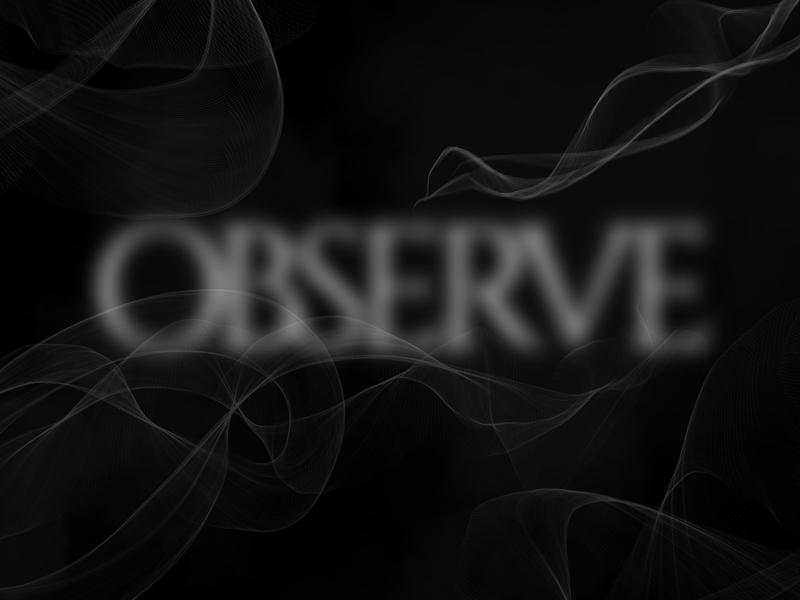 O says Observe observe creative dailychallenge vector illustrator illustration design