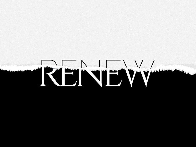R say Renew blackandwhite renew typography typography art creative dailychallenge vector illustrator illustration design