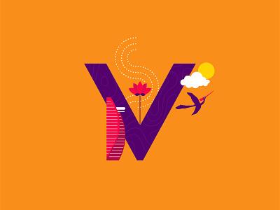 V for Vietnam lotus chimlac vietnamese vietnam creative cutegraphicstyle dailychallenge vector illustrator illustration design