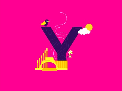Y for Yemen! vibes arabiancoffeeflower yemeni grosbeak alsabeensquare yemen creative cutegraphicstyle dailychallenge vector illustrator illustration design