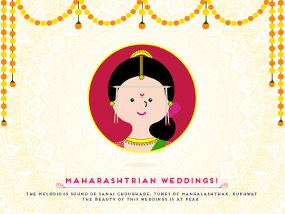 Indian Wedding - Maharashtrian Bride