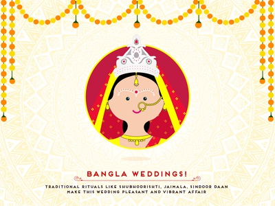 Indian Wedding - Bangla Bride