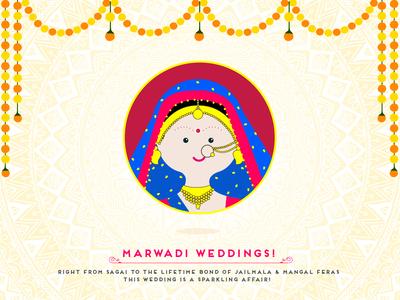 Indian Wedding - Marwadi Bride