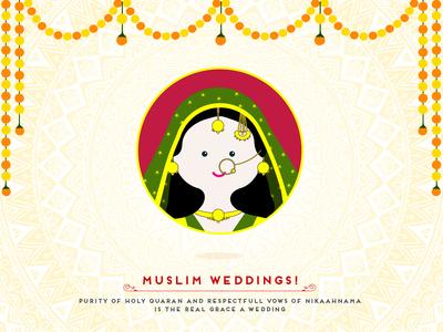 Indian Wedding - Muslim Bride