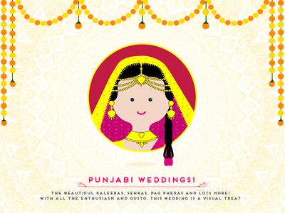 Indian Wedding - Punjabi Bride