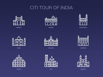 City Tour of India