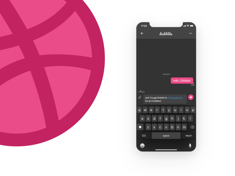 Hello Dribbble hello dribbble hello web design app mobile app interface mobile ui ux design