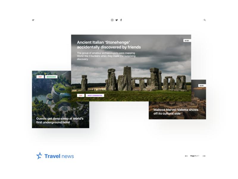 News page layout ui article figma clean ux design webdesign web app ui news