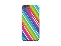 Rainbow Ribbons iPhone Case